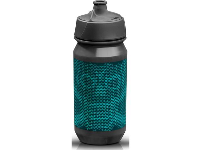 rie:sel design bot:tle 500ml skull honeycomb blue